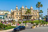 Kasino Monte Carlo in Monte Carlo, Monaco, Côte d'Azur, französische Riviera, Mittelmeer, Frankreich, Europa