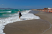 Beach in Mastichari on the north coast of the island of Kos, Dodecanese