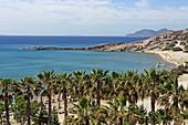 Paradise Beach on the south coast of Kos Island, Dodecanese