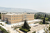 The Greek Parliament in Syntagma Square, Athens, Greece
