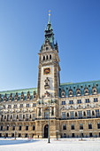 Hamburg City Hall, Old Town, Free Hanseatic City of Hamburg, Northern Germany, Germany, Europe