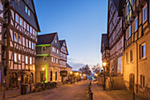 Historic old town of Bad Wildungen, Hesse, Central Germany, Germany, Europe