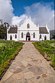 Wedding at Franschoek Church, Cape Winelands, South Africa, Africa