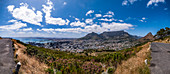 Panorama of Cape Town, South Africa, Africa