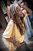 Cuban Rastafarian in Havana, Cuba
