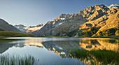 Lac du Pontet, La Meije, Rhones Alpes, Hautes-Alpes, France