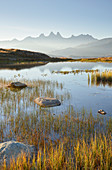 Aiguille d'Arves, Lac Guichard, Col de la Croix de Fer, Rhone-Alpes, Savoy, France