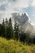 Schlern, Seiser Alm, Südtirol, Italien