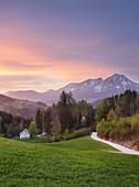 Haller Mauer von Vorderstoder, Oberösterreich, Österreich
