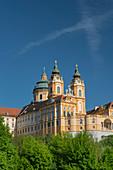 Stif Melk, Wachau, Niederösterreich, Österreich
