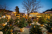 Advent in the park, Baden near Vienna, Lower Austria, Austria