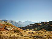 Fletschhorn, Dom, von der Moosfluh, Wallis, Schweiz