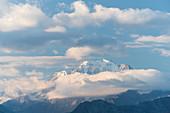 Fletschhorn von der Bettmeralp, Wallis, Schweiz