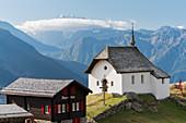Kapelle Maria zum Schnee, Bettmeralp, Wallis, Schweiz
