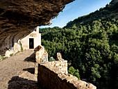Eremo di San Bartolomeo in Leegio, Roccamorice, Majella National Park, Abruzzo, Italy