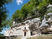 Eremo di Santo Spirito a Majella, Roccamorice, Majella National Park, Abruzzo, Italy