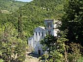 San Liberatore a Majella Abbey, Majella National Park, Abruzzo, Italy