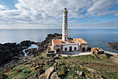 Punta Cavazzi lighthouse, Ustica, Palermo, Italy