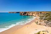 Beliche beach (Praia do Beliche), Sagres, Algarve, Portugal, Europe