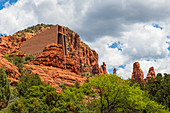 Chapel of the Holy Cross, Sedona, Arizona, United States of America, North America