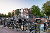 The Keizersgracht Canal in Amsterdam, North Holland, The Netherlands, Europe