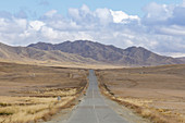The vast landscapes of Mongolia, Central Asia, Asia