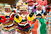 Cuban folk dolls at an outdoor market in Trinidad, Cuba, West Indies, Caribbean, Central America