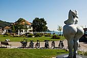 Waterfront, Bodman-Ludwigshafen, Lake Constance, Baden-Württemberg, Germany