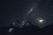 Milky Way over the Bungle Bungle, Purnululu National Park in Western Australia, Australia, Oceania;