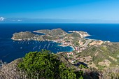 France, Guadeloupe (French West Indies), Les Saintes archipelago, Terre de Haut, Les Saintes bay is the third most beautiful bay in the world
