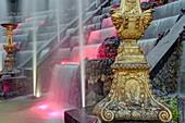 Frankreich, Yvelines, Versailles, Schlosspark von Versailles, UNESCO Weltkulturerbe, Le Bosquet des Rocailles, auch der Ballsaal genannt, angelegt von André Le Nôtre