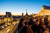 France, Paris, Perchoir Bar on the roof of Bazar de l'Hôtel de Ville