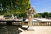 France, Gard, Nimes, Jardins de la Fontaine (Fountain Gardens)