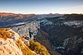 France, Alpes de Haute Provence, Var, Parc Naturel Regional du Verdon (Natural Regional Park of Verdon), La Palud sur Verdon, Aiguines, Gorges du Verdon, Grand Canyon