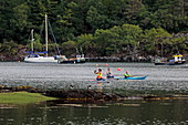 Stand up paddle boarding and kayaking in Plockton, Loch Carron, Highlands