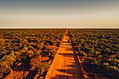 Off-road vehicle in the outback in Western Australia, Australia, Indian Ocean, Oceania;