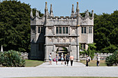 Estate and manor house, Lanhydrock at Bodmin in Cornwall, England, UK
