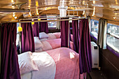 INSIDE THE MAGIC KNIGHT BUS, STUDIO TOUR LONDON, THE MAKING OF HARRY POTTER, WARNER BROS, LEAVESDEN, UNITED KINGDOM