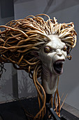 SIREN'S HEAD, STUDIO TOUR LONDON, THE MAKING OF HARRY POTTER, WARNER BROS, LEAVESDEN, UNITED KINGDOM