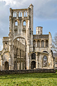 RUINS OF THE OLD ABBEY CHURCH, JUMIEGES ABBEY, FORMER BENEDICTINE MONASTERY FOUNDED IN THE 7TH CENTURY AND REBUILT BETWEEN THE 9TH AND 17TH CENTURIES, (76), FRANCE