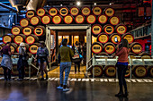 TOUR OF THE GUINNESS STOREHOUSE, DUBLIN, IRELAND