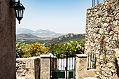 The mountain village of Ghiarghia, Zilia near Calvi, Corsica, France.