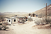 Ghost Town of Rhyolite, Death Valley Nationalpark, Nevada, USA
