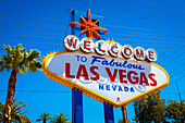 Welcome sign in Las Vegas, Nevada, USA