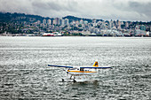 Seaplane off Lower Landsdale in North Vancouver, Canada
