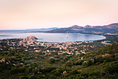 View of the Bay of Calvi, Corsica, France