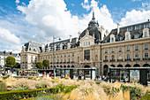 Palais du Commerce am Place de la Republique, Rennes, Departement Ille-et-Vilaine, Bretagne, Frankreich, Europa