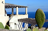 Holiday house by the sea, next to the island's capital, Lipari, Aeolian Islands, southern Italy