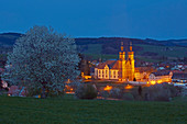 Spring in St. Peter, evening, Southern Black Forest Nature Park, Southern Black Forest, Black Forest, Baden-Wuerttemberg, Germany, Europe