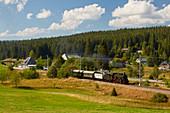 Dreiseenbahn, museum railway at Altglash? Tten station - Falkau, southern Black Forest, Black Forest, Baden-Wuerttemberg, Germany, Europe